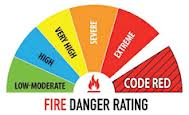Know the danger rating of the area you are travelling through.