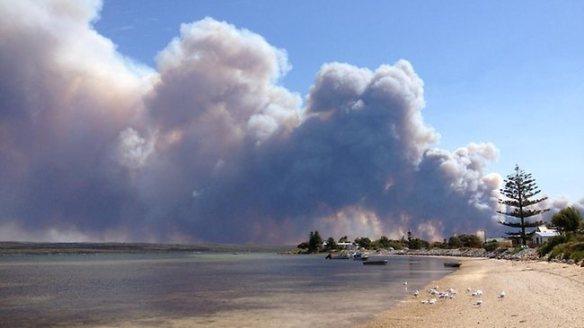 The November 2012 Tulka bushfire