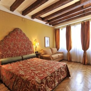 The main bedroom of our Venice apartment
