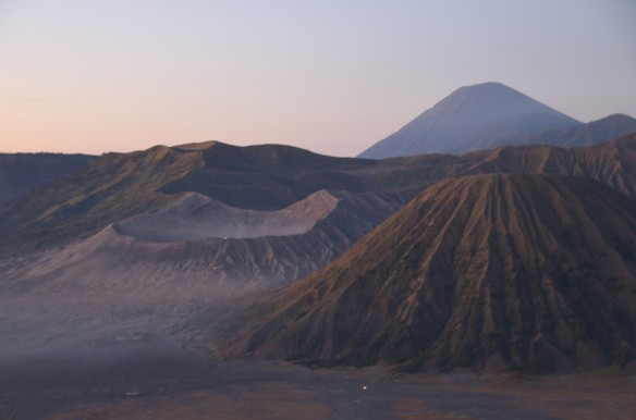 Mr Bromo - an active volcano that last erupted in 2011.