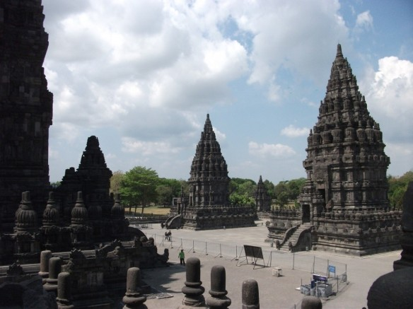 The Prambinan Hindu temple in Yogyakarta.