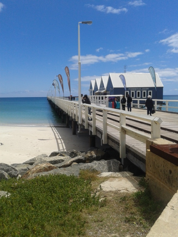 Enjoy a family tour of the Busselton jetty.
