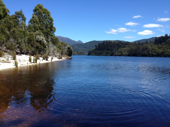 A picture perfect day at Tullah, located on the shores of Lake Rosebery.