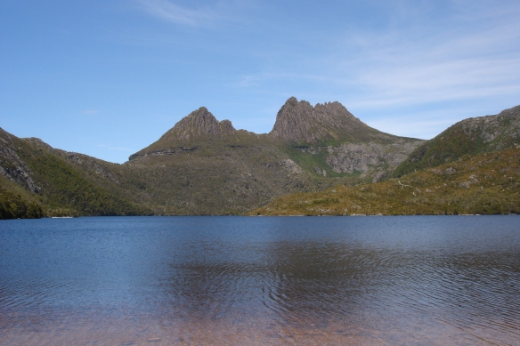 Cradle Mountain is spectacular whatever the weather, but encountering a day like this is rare and very special.