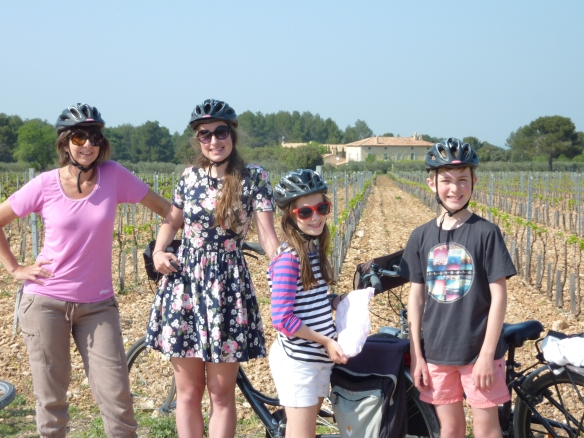 Philippa said their biking adventure helped their family reconnect.